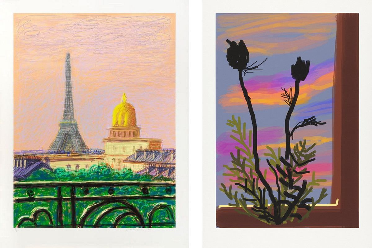 Delving Into David Hockney's iPhone and iPad Art