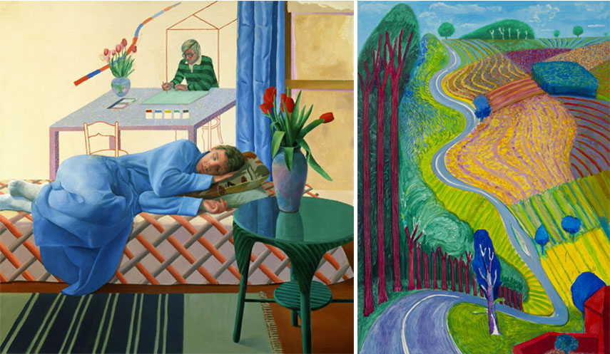 hockney's recent work will also be featured this february 2017