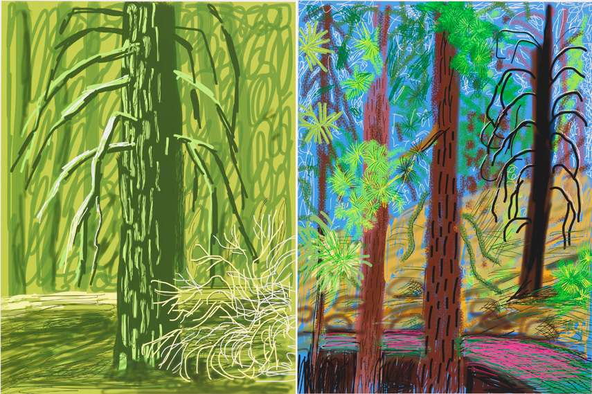 2014,july, march year, bigger,portrait  news, yorkshire drawing 2015 hockney's arts