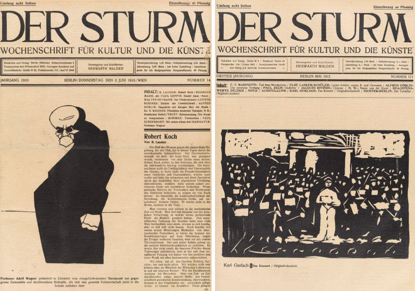 Der Sturm, Volume 1, Issue 14 (1910) / Der Sturm (1912)