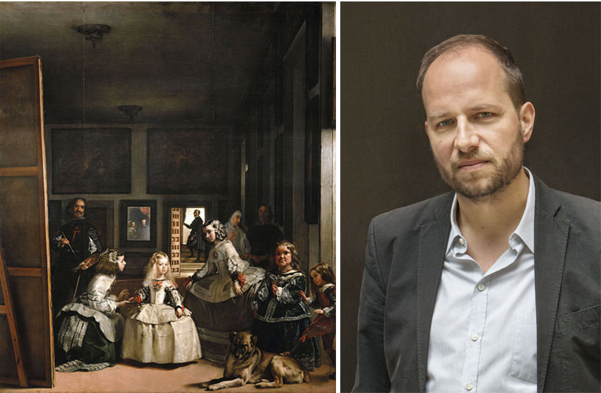 Left Diego Velázquez, Las Meninas, 3.18x2.76m, Museo del Prado, Madrid, Spain Right Holger Liebs © Corinne Rose