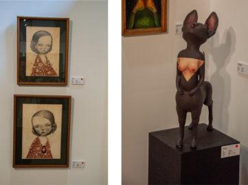 Left Dilka Bear Right Mono Cieza Fousion Gallery Urvanity Art 2020