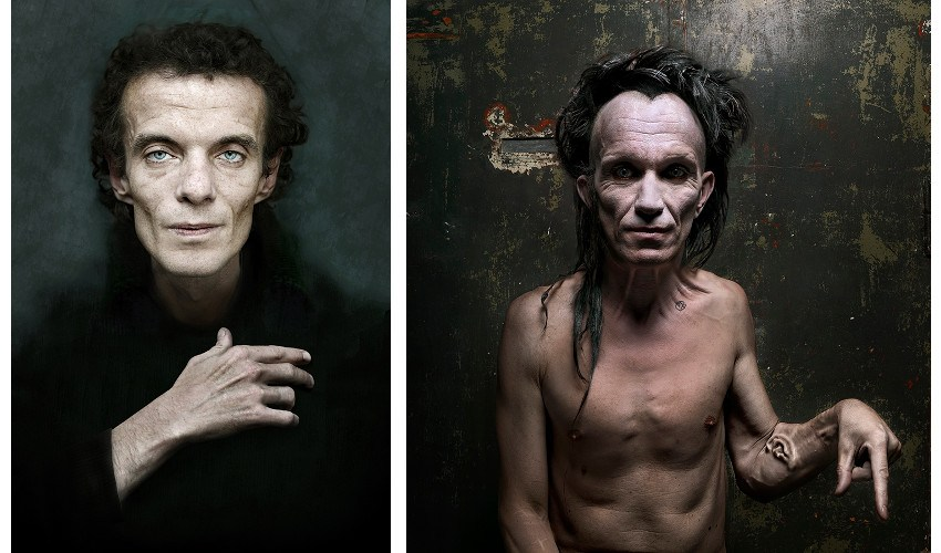 Left Dragan - Piotr, 2003, Right Dragan - No title, 2007