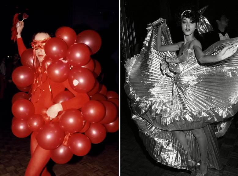 Left Dustin Pittman -Red Balloons Right Guy Marineau - Pat Cleveland on the dance floor
