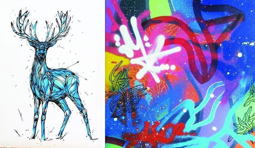 Deer, Micro Flashback #1, 2017