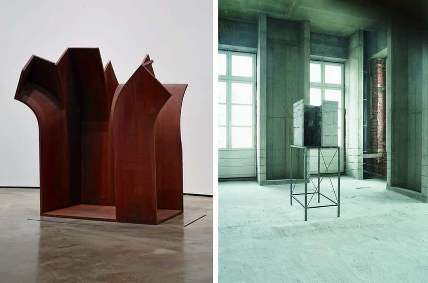 Eduardo Chillida - Advice to Space V (Consejo al espacio V), 1993, Isa Genzken - Look (Blick), 1987