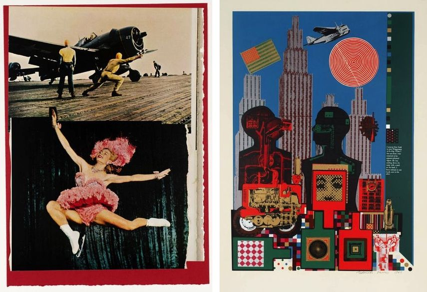Eduardo Paolozzi - 7. Take-off, 1972, Wittgenstein in New York, 1964.