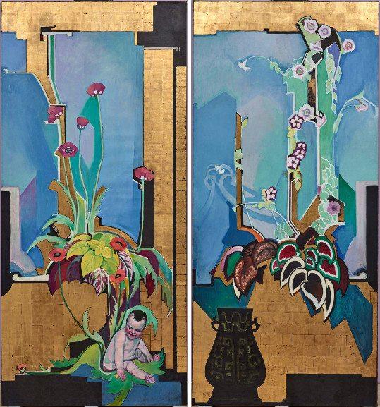 Left Edward Jean Steichen - In Exaltation of Flowers Coleus, The Florence Meyer Poppy Right Edward Jean Steichen - In Exaltation of Flowers Petunia
