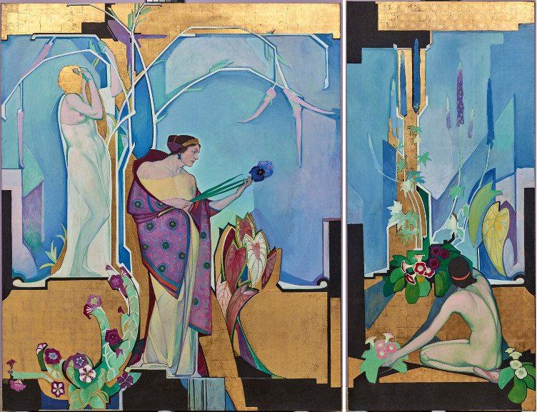 Left Edward Jean Steichen - In Exaltation of Flowers Petunia Right Right Edward Jean Steichen - In Exaltation of Flowers Gloxinia