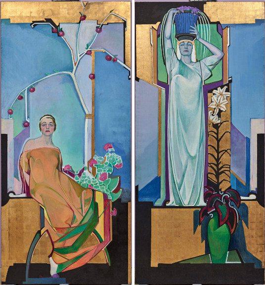 Left Edward Jean Steichen - In Exaltation of Flowers Rose, Geranium Right Edward Jean Steichen - In Exaltation of Flowers