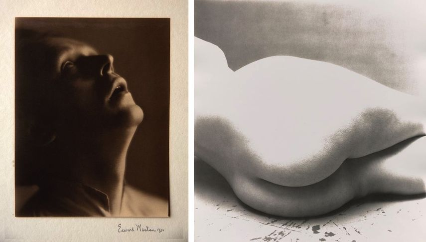 Edward Weston - Henry Cowell, Composer, Irving Penn - Nude No. 55, New York, 1949-1950