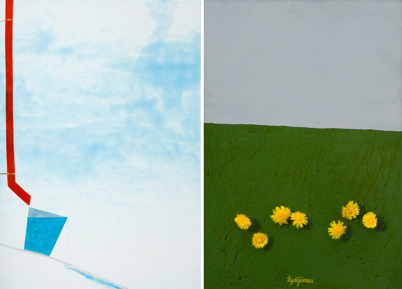 Left Egle Gineityte - Gandro koja Right Linas Katinas - Seven Days in Rusne or the Blooming of the Dandelions
