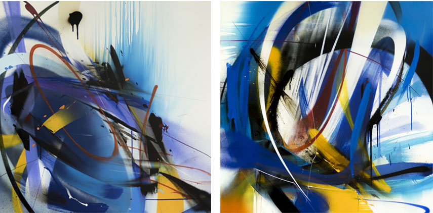 Emanuele Vittorioso Abstract Graffiti