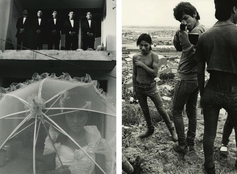 Eniac Martinez, La quinceañera en Ciudad Neza, from the series Mixtecos, 1989, Pablo Ortiz Monasterio, Si Disparas, Disparo, 1989