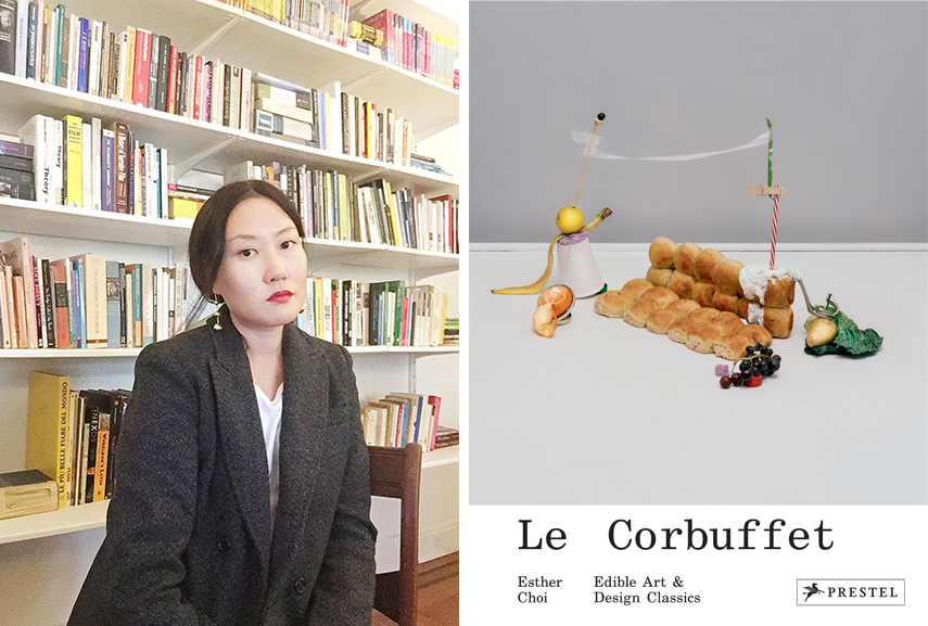 Left Esther Choi, courtesy the author Right LeCorbuffet Cover