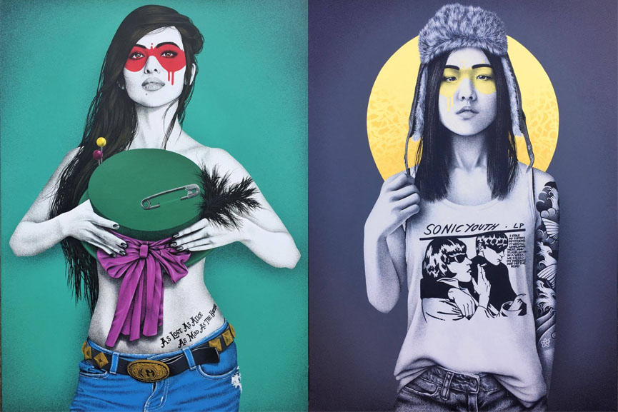 Left FinDAC - Alicia Perdida Right FinDAC - Sonica