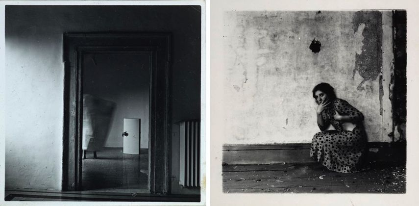 Francesca Woodman - From Angel Series, Roma, September 1977 1977, Untitled, 1975-80