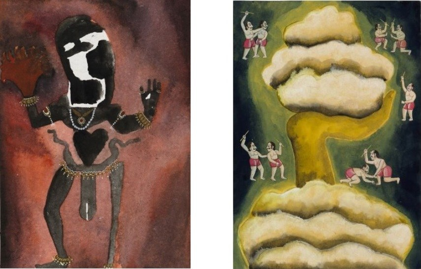 Francesco Clemente: Emblems of Transformation at Blain Southern
