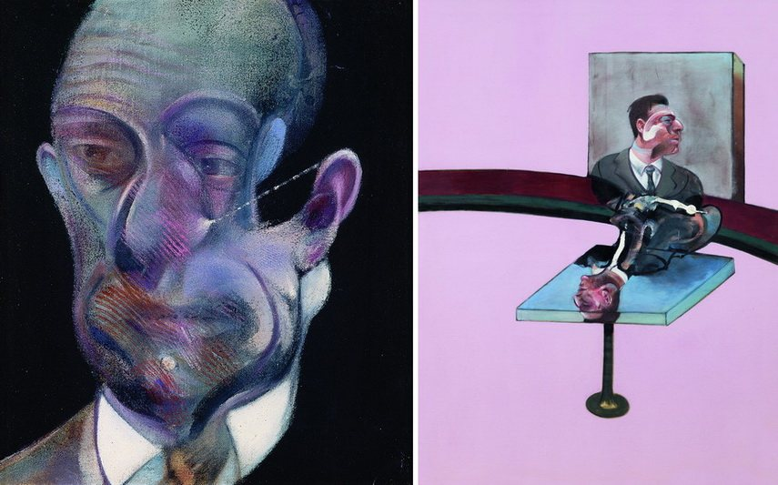Francis Bacon - Study for Portrait and In Memory of George Dyer
