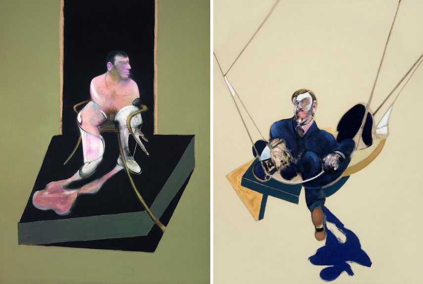 Francis Bacon - Triptych 1986-7 and Triptych