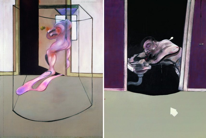 Francis Bacon - Triptych Inspired by the Oresteia of Aeschylus and Triptych May-June 1973