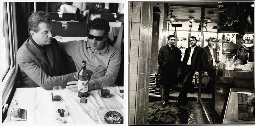 Francis Bacon and George Dyer on the Orient Express