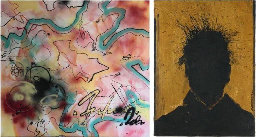 Futura 2000 - Electric Range 2, 1984, Richard Hambleton - Shadow Head, 1988-1990