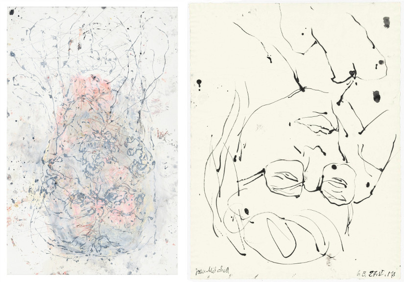 Left Georg Baselitz - GB Als fall Right Georg Baselitz - Joan Mitchell