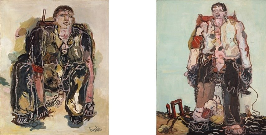Georg Baselitz paintings work munich baselitz georg german artist works germany berlin 1938