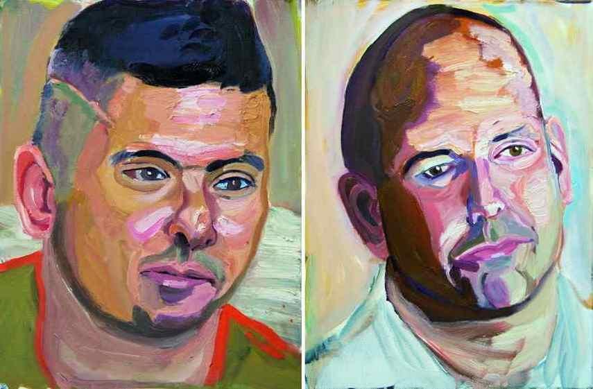 Left George W Bush - Ramon Padilla, Michael Joseph Leonard Politowicz
