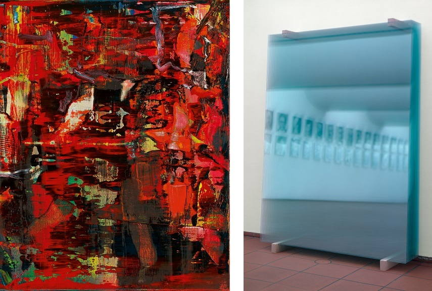 Left Gerhard Richter - WV 947 8 Right Gerhard Richter - 11 Scheiben