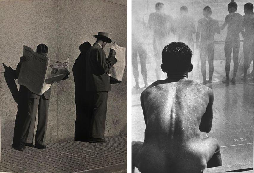 German Lorca, A Procura de Emprego, 1948, Boris Ignatovich - Shower, 1935