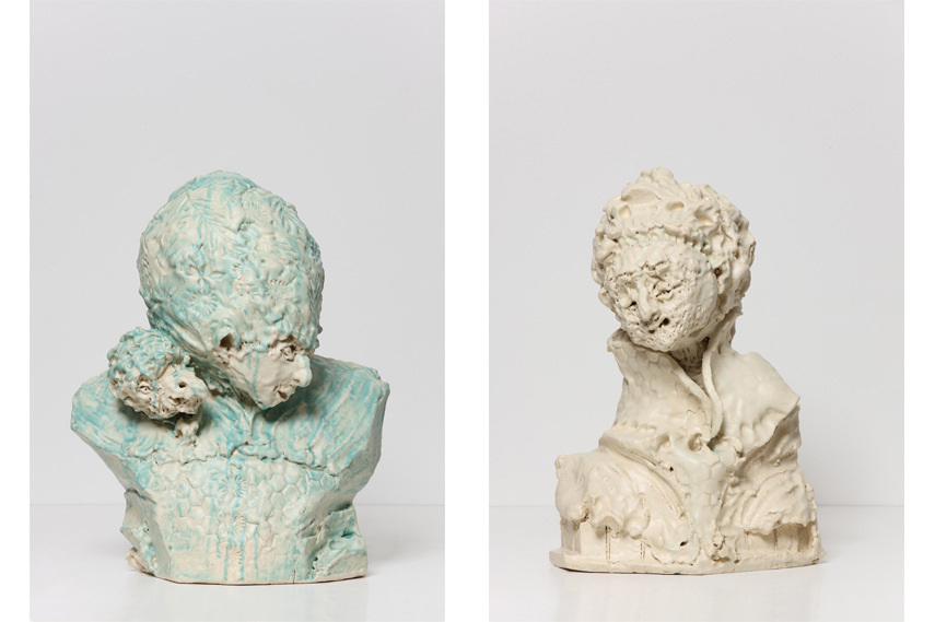 Left- Gert and Uwe Tobias - Untitled -GUT - 2490- 2016; Right- Gert and Uwe Tobias - Untitled -GUT - 2494- 2016