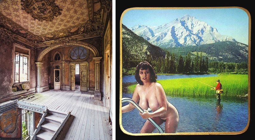 Gina Soden - Rosa Palace, 2017, Sadie Hennessey, Mountainous Regions, 2018