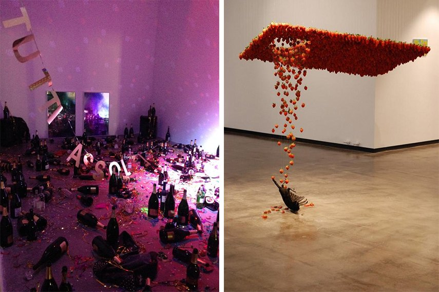 What is art installation and how do we interact with the installations of contemporary artists