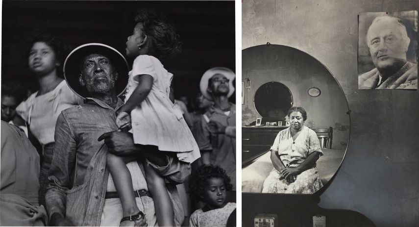 Untitled, Puerto Rico (Inauguration of Luis Muñoz-Marín), January 1949, Washington (southwest section), D.C. Negro woman in her bedroom, November 1942