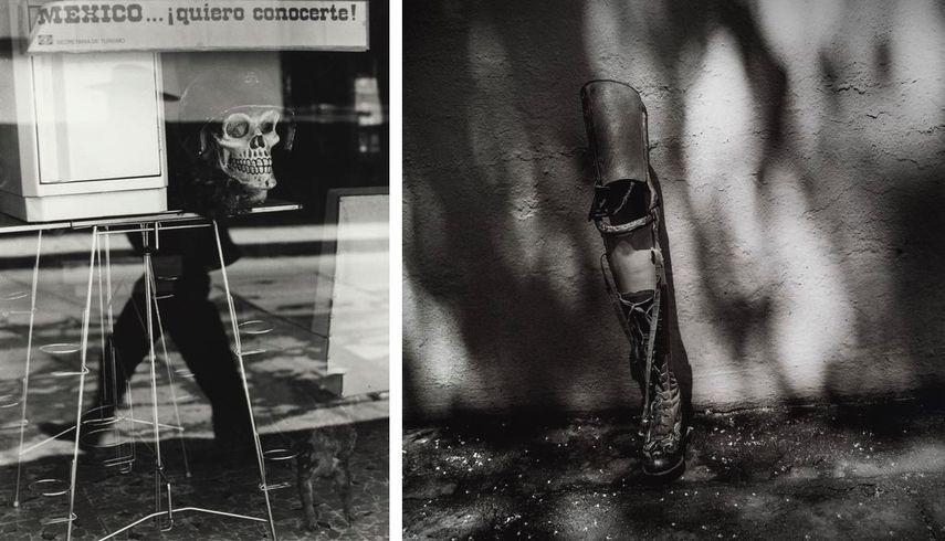 Mexico, Quiero Conocerte, Chiapas, Mexico, 1975, El Baño de Frida, Coyoacán, Ciudad de México (prosthetic leg against wall), 2006