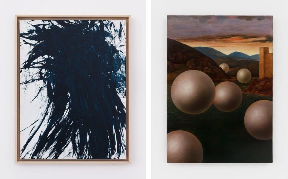 Hans Hartung - T1986-H17, 1986, Laurent Grasso - Studies into the past.