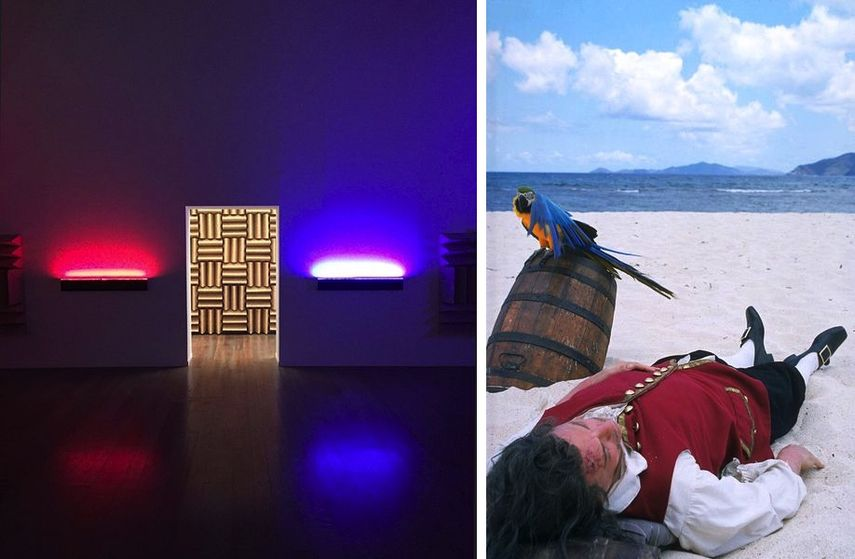 Haroon Mirza - A Chamber for Horwitz, Rodney Graham - Vexation Island, 1997