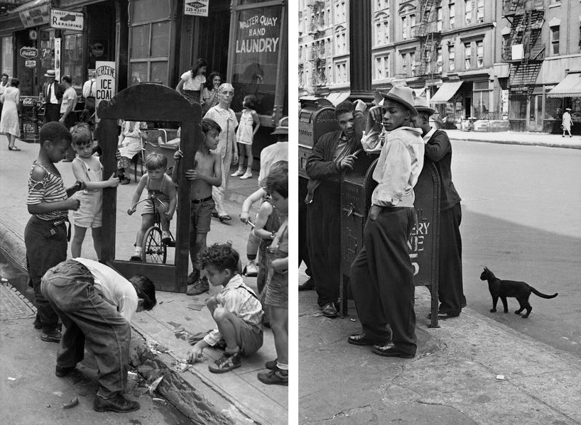 Helen Levitt - New York, 1940, Helen Levitt - New York, 1945