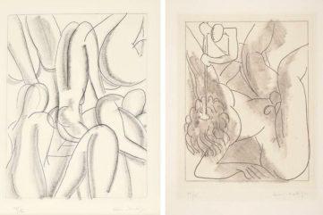 Henri Matisse - Circé, from Ulysses, 1935, Henri Matisse - Polyphème, for Ulysses by James Joyce, 1934