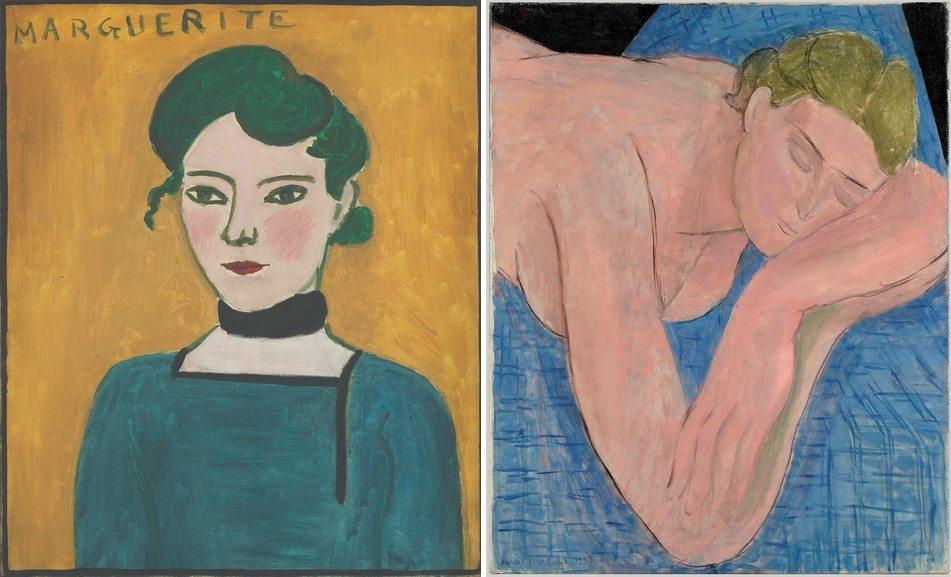 Left Henri Matisse - Marguerite Right Henri Matisse - Dream