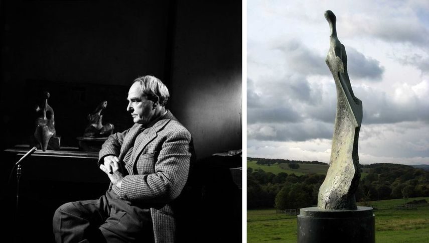 henry moore's abstract pieces are still regarded as best examples of abstract 3d production.