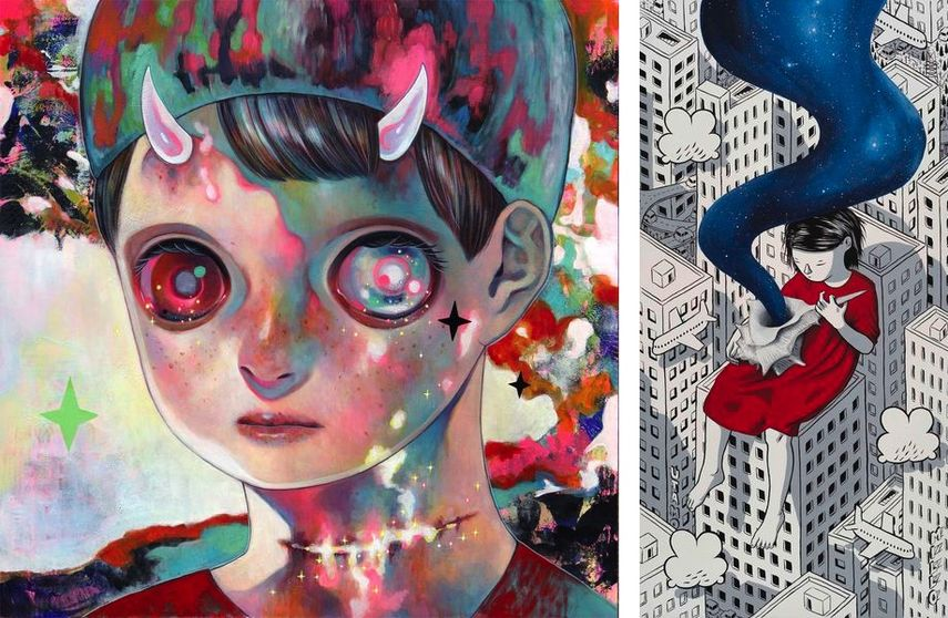 Hikari Shimoda - Whereabouts of God n.36, 2019, Millo - Blue Trails, 2019