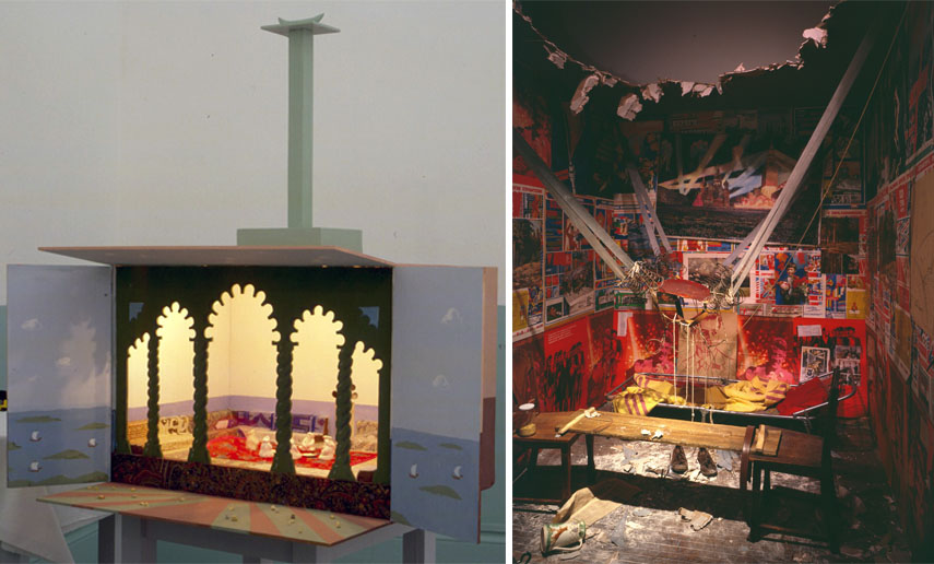 The Children's Hospital (An Earthquake in the Seraglio), 1998-2000, The Man Who Flew Into Space from His Apartment, 1984