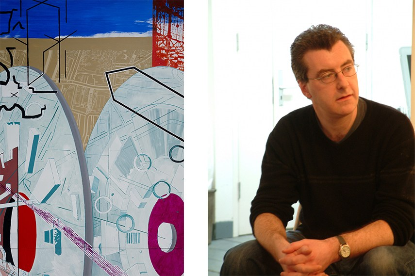 Left: Image of work in progress, courtesy of the artist and Project Arts Centre / Right: Mark O' Kelly