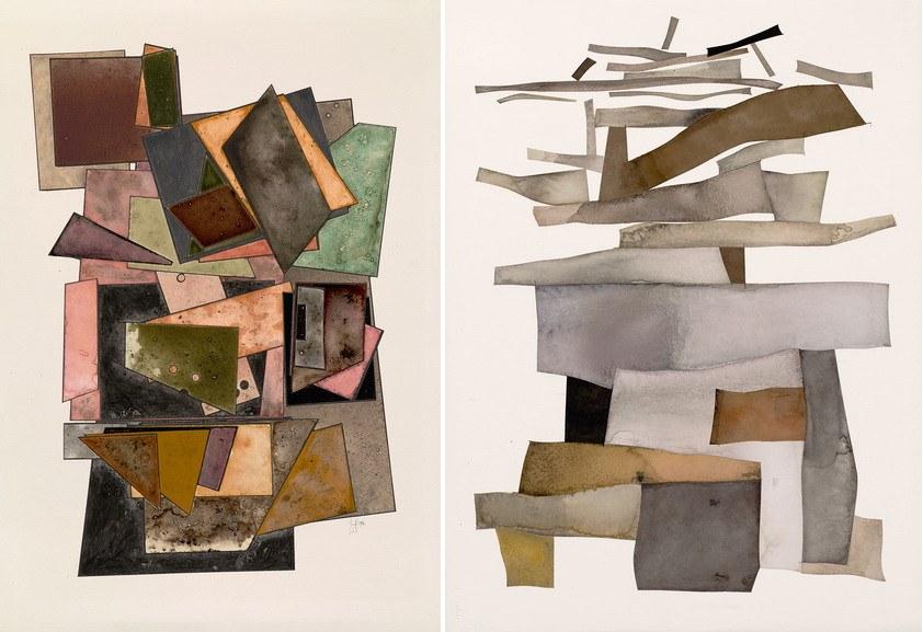 Left Irving Penn – Cards Right Irving Penn - Tower of Babel