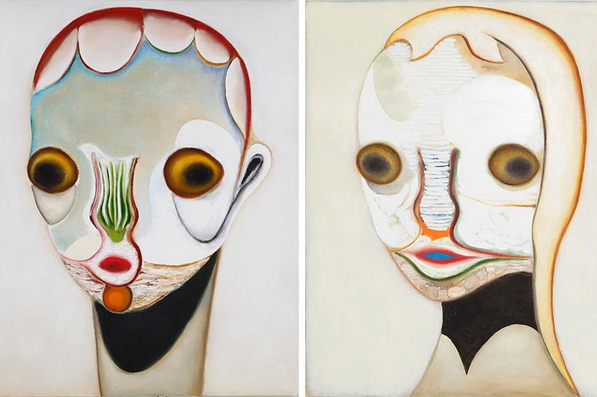 Left: Izumi Kato - Untitled, 2015 / Right: Izumi Kato - Untitled, 2015