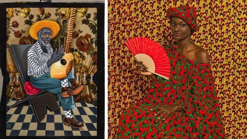 JP Mika - Mboka mboka, 2014, Omar Victor Diop - Aminata, 2013