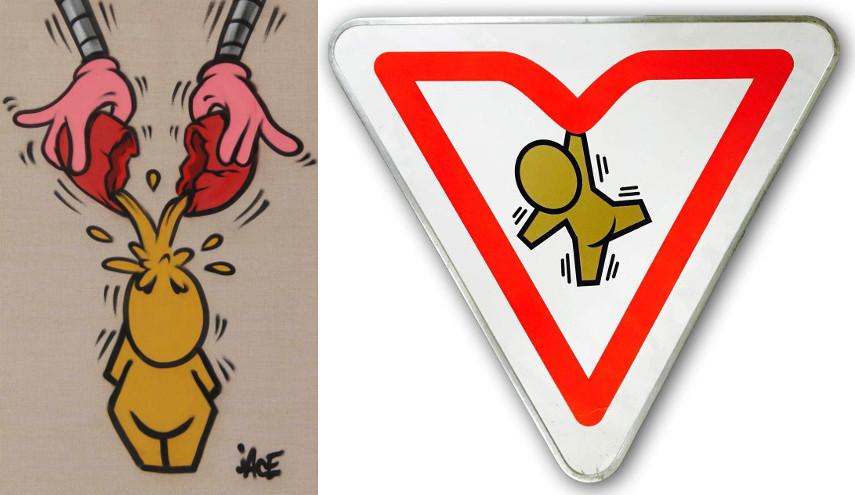 Toile #3 / Panneau Circulation